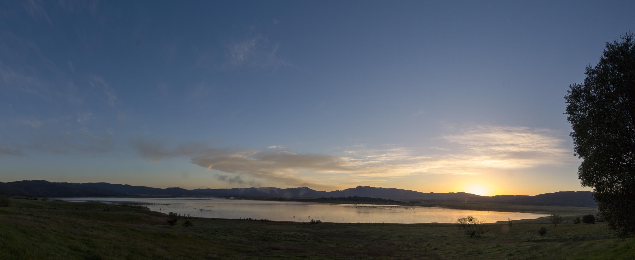 lake henshaw panorama